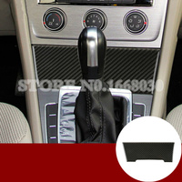 Carbon Fiber Gear Shift Box Panel Cover For Volkswagen Golf 7 MK7 2013 2018 1pcs