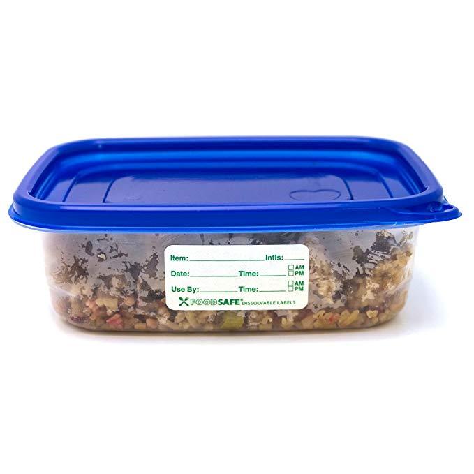 "500pc 1x2/"" Self Adhesive Food Storage Date Label Set For Freezer Refrigerator US"