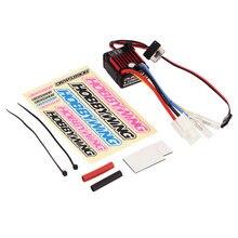 1pcs 100% Original HobbyWing QuicRun 1:10 Brushed 60A Electronic Speed Controller ESC 1060 RC Car Waterproof