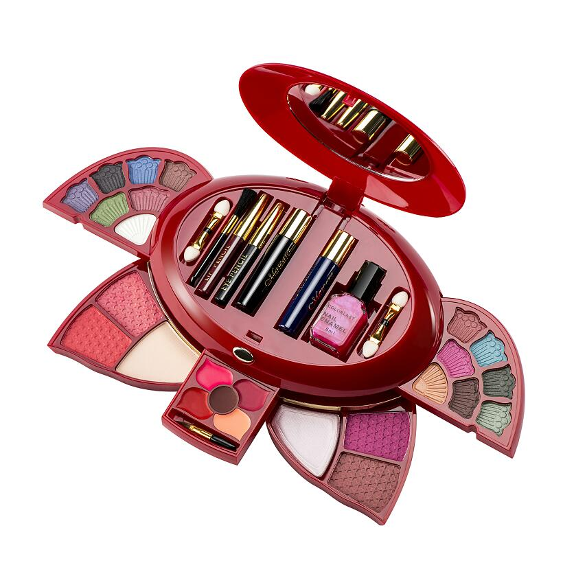 New Arrival Woman Brand Cosmetics Set Makeup Kit Naked Palette Eyeshadow Palette Lipgloss Mascara Blush Combination Make up Set