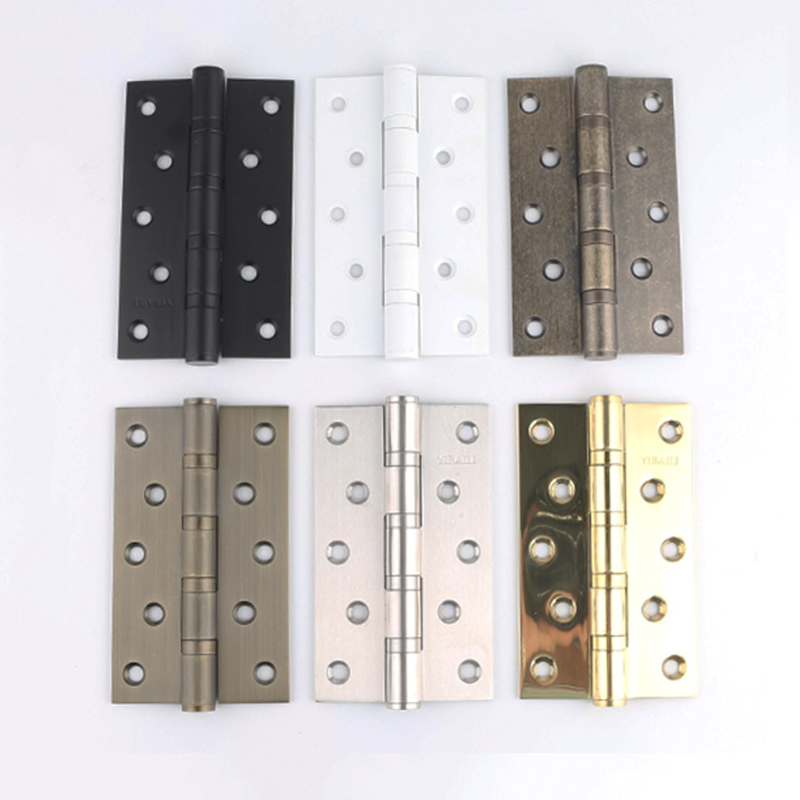 High Quality 2PCS 5Inches Stainless Steel Door Hinges Mute Ball Bearing Furniture Hinges Smoothly and Mute Wooden Door HingesHigh Quality 2PCS 5Inches Stainless Steel Door Hinges Mute Ball Bearing Furniture Hinges Smoothly and Mute Wooden Door Hinges