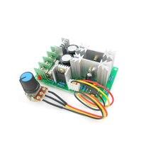 Регулятор скорости двигателя постоянного тока, 12 В, 24 В, 36 В, 48V Высокая мощность привода Модуль pwm контроллер скорости двигателя 20A Регулятора Тока