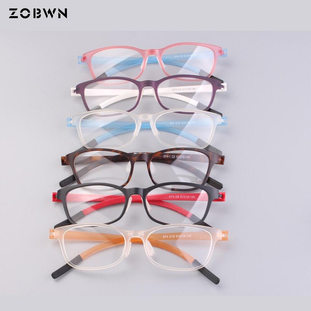 16bc0bfa046fa Hot selling 2018 ZOBWN brand mix wholesale glasses super thin Vintage  myopie monture de lunettes optique oculos de grau feminino