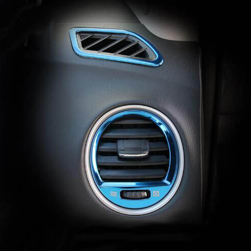 2014 Infiniti Qx60 Interior: Front Dashboard Center Console Air Vent Outlet Decorative