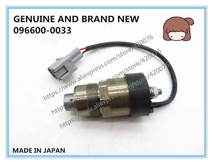 US $190 0 |GENUINE AND BRAND NEW DIESEL FUEL SPILL CONTROL VALVE, SOLENOID  VALVE 096600 0033 -in Fuel Inject  Controls & Parts from Automobiles &