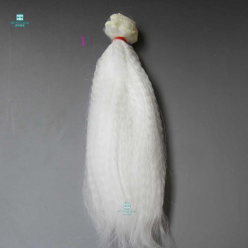 См 15 см * 100 кукла интимные аксессуары пушистый парик для 1/3 1/4 1/6 BJD/SD DIY волос