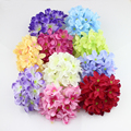 11cm Large Hydrangea Head artificial silk hydrangea flowers accessory home wedding decoration  20pieces/lot