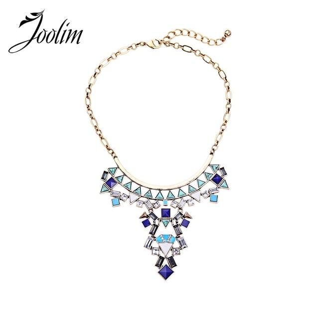 JOOLIM Jewelry Wholesale/  Geometric  Necklace Choker Necklace Jewelry Factory supply  free shipping