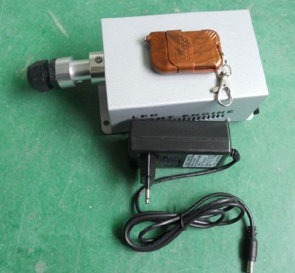 5W LED light engine with remote controller;with standard 6 color wheel