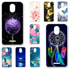 TPU Cases For ZTE Blade A310 A462 Case Silicone Floral Painted Bumper For ZTE Blade  A310 5.0 inch Phone Cover Soft Back Fundas for zte blade a6 a6 lite cover ultra thin soft tpu silicone for zte blade a6 case girl patterned for zte blade a6 lite shell bag