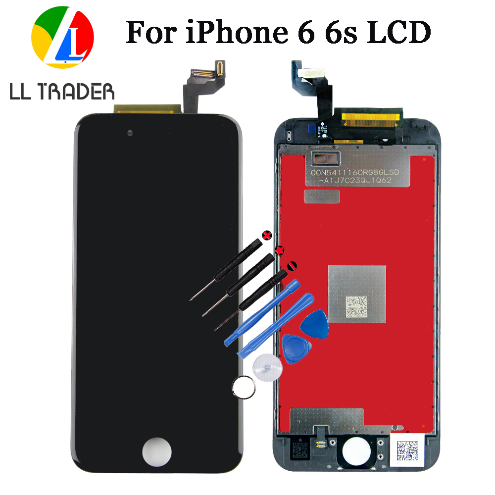 LL TRADER Black Grade AAA Assembly Replacement LCD For iPhone 6s Screen 4.7 inch LCD Display For iPhone 6 Digitizer Touch+Tools image