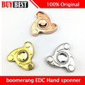 Original EDC Hand Spinner Toy Boomerang Hand Fidget Spin Focus Toy Metal Material with Ceramic Bearing For Autism and ADHD