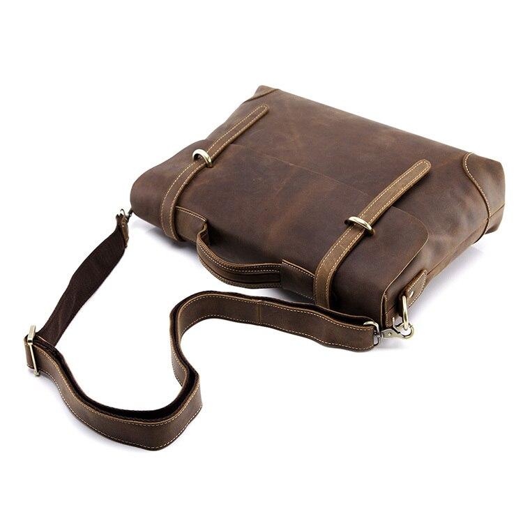 nova tendência dos homens venda Material : Crazy Horse Leather