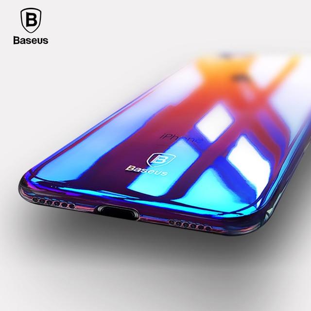 Baseus Luxury Plating Gradient Hard Plastic Case for iPhone 7 7 Plus 8 8 Plus (Ultra Thin PC Case) 1