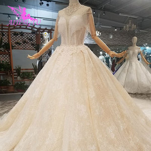 Image 5 - AIJINGYU Wedding Dresses For Bride Gowns By Tulle Asian Cheap Designer Mature Colors Fashion Gown Wedding Dress By