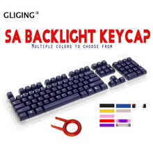 Retro Beige 104 Kunci/Set Sa Lampu Latar Tombol Ball Kunci untuk Cherry MX Switch Tombol Kabel USB Gaming Mekanik keyboard Cap(China)