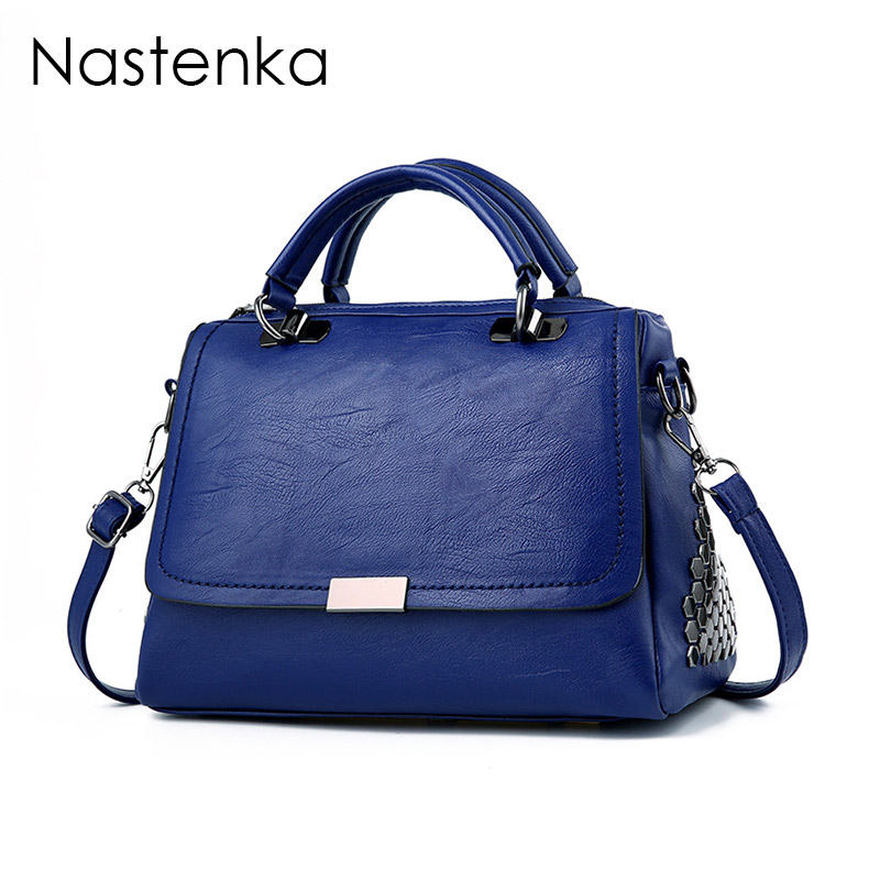 Nastenka Vintage Messenger Bags Luxury Handbags Women Bags Designer Crossbody Bag For Women Shoulder Bag Leather Casual Tote Sac women tote bag designer luxury handbags fashion female shoulder messenger bags leather crossbody bag for women sac a main