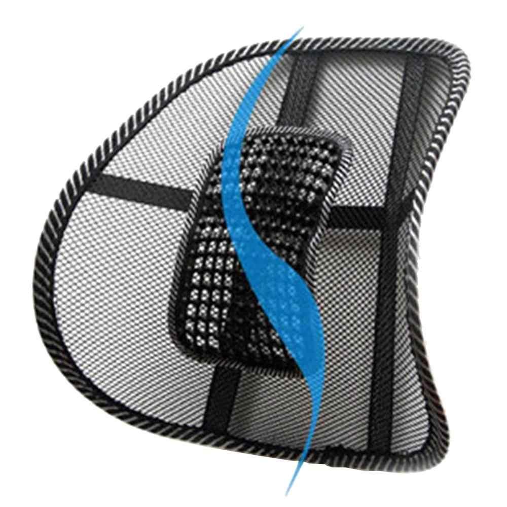 VODOOL biuro krzesło fotel samochodowy Sofa fajna poduszka do masażu podparcia lędźwi powrotem pasek podtrzymujący talię lędźwiowe Seat obsługuje poduszki wysokiej jakości