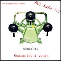 V2065/8/12.5 220V/380V 4KW portable piston belt driven air compressor piston head for air compressor
