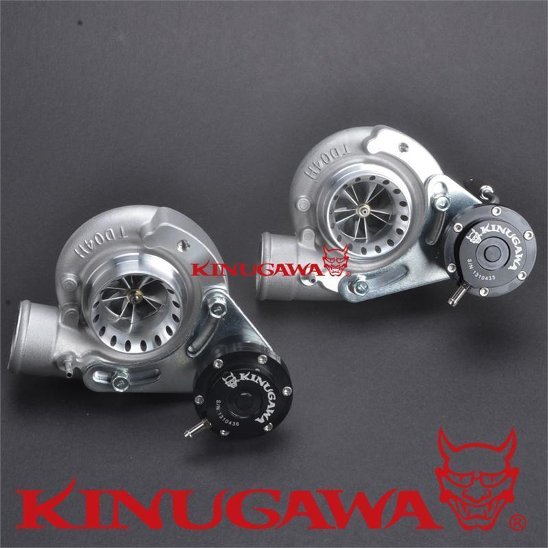 Kinugawa Billet STS Turbo cartouche CHRA Kit TD04HL-20T 6 + 6 Anti surtension pour Mitsubishi 6G72T 3000GT