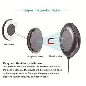 Image 3 - Transmisor FM magnético de 5MM para coche, reproductor de MP3 Bluetooth, cargador Dual para coche, pantalla LED, estéreo, frecuencia PLL Digital para Iphone