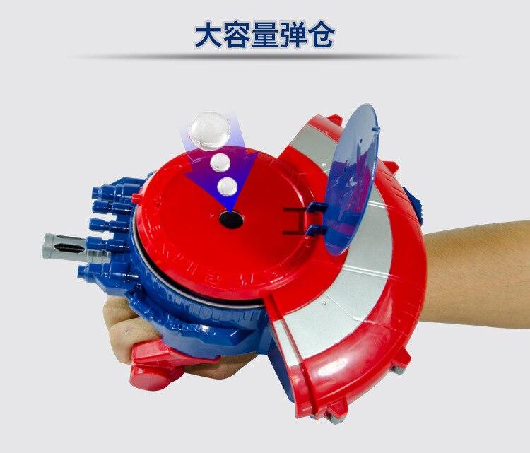 Captain America L'égide pistolet à eau Pour Enfants Avec Balle de L'eau en plein air jouet bataille jeu D'anniversaire Cadeau Garçon de Cadeau De Noël #75