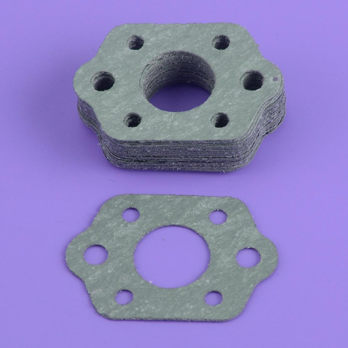 LETAOSK Grey 20pcs Carburetor Intake Manifold Carb Gasket Fit For Stihl 021 023 025 MS210C MS230C MS250C Chainsaw