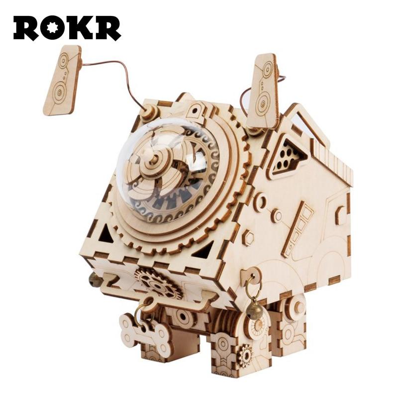 Rokr wooden models