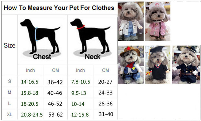 Halloween Dog Clothes for Small Dogs Funny Halloween Dog Costumes Puppy Coats Jackets Party Chihuahua Clothes 9CY20