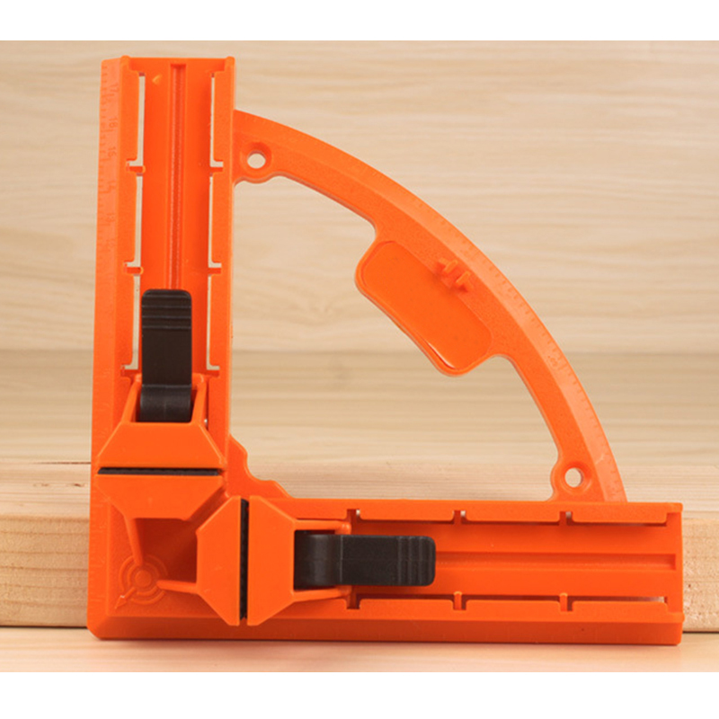 90 Degree Right Angle Corner Plastic Picture Frame Woodworking Clamp hq heavy duty 90 degree abs plastic right angle clamp picture frame clip corner holder woodworking hand tool