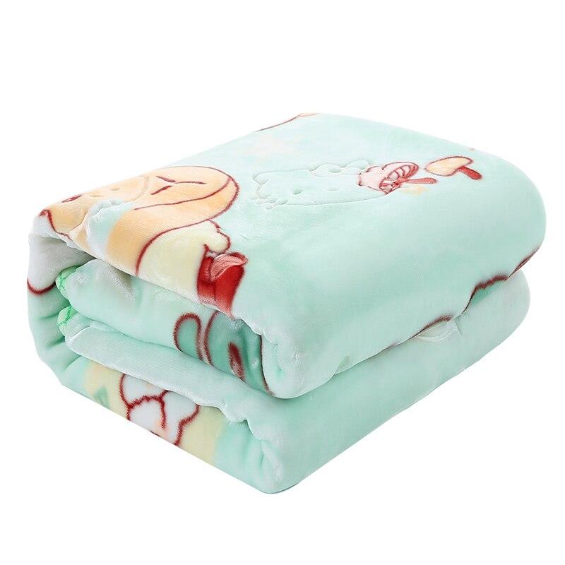 Super Soft Baby Blanket Autumn Winter Cartoon Thickening Warm Newborns Swaddle Wrap Air Conditioning Blanket Receiving Blankets new baby swaddles knit baby blanket newborn swaddle wrap super soft baby nap receiving blanket animal manta cobertor bebe