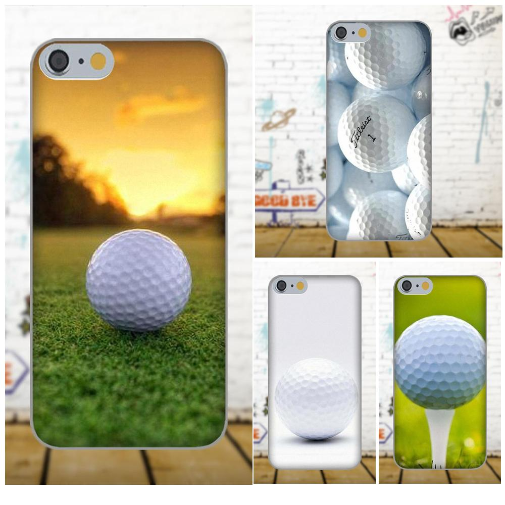 Oedmeb Soft TPU Case Mobile For Apple iPhone 4 4S 5 5C 5S SE 6 6S 7 8 Plus X For LG G3 G4 G5 G6 K4 K7 K8 K10 V10 V20 Golf Ball
