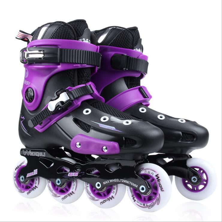 XUANWU X7 Inline Skates Adult Ice Skate Shoes PPC Roller Skate Shoes Pro Men or Women Figure Skating Slalom Shoes professional adjustable adult sliding slalom inline skates shoes roller skating shoes roller skate shoes with shinning wheel