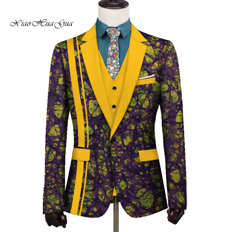 African Men's New Clothing African Fashion Causal Dashiki Cardigan Jacket Long Sleeve Printed Coat African Men Clothes WYN699
