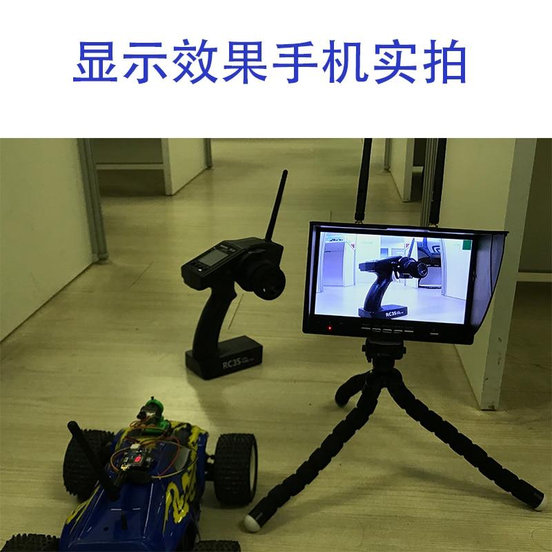 Image 5 - Łatwy w użyciu 5.8G FPV zestaw wideo 200/600mw nadajnik TS5823 i mini CMOS 1000TVL kamera z zestaw kabli Racing Drone fpv zestawCzęści i akcesoria   -