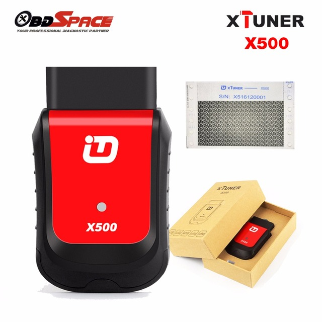 2017 New Generation Vpecker XTUNER X500 OBD2 Car Scanner with Oil Reset DPF ABS TPMS Special Functions Better Than Easydiag 2.0