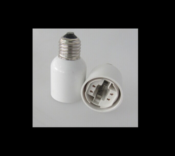 E27 To G24 Lamp Holder Converter For Light Bulb ROHS Compliance Good Quality