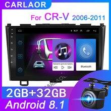 Radio Multimedia con gps para coche, Radio con reproductor, 2 din, 9 pulgadas, Android 2006, navegador estéreo, navegación por wifi, para Honda CRV CR V