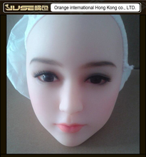 2016 NEW HOT oral sex doll head, lifelike cyberskin head for 165cm full body love dolls,doll head oral sex toys for man, HD-022