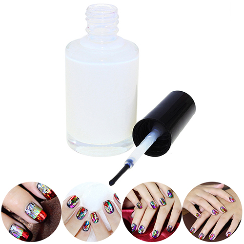 1Pc Pro White Glue Adhesive for Galaxy Star Foil Sticker Nail Art Transfer Tips KIJ A4RN billabong шорты пляжные billabong all day lay sh 16 black