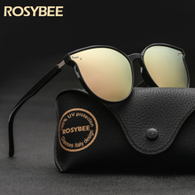 Polarized Cat eye boy's girl sunglasses Small size narrow fa