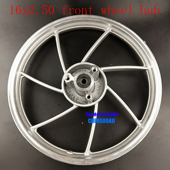 Size 16 inch  orifice disc 6200 bearing rims 16X2.50 tyre Aluminium alloy front wheel  rim  fits Electric vehicle E-Bike