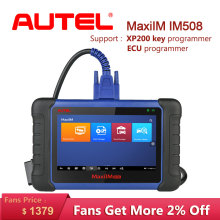 Autel MaxiIM IM508 OBD2 scania Car Diagnostic Auto Scanner Engine Tool ECU XP200 Key Programming professional automotive scanner цена