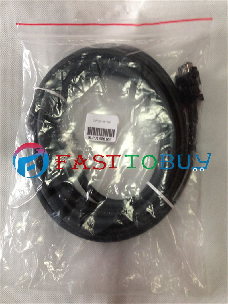 NEW CNV2E-8P-5M Compatible Mitsubishi CNC M70 Encoder Cable 5M One Year Warranty fx3g cnv adp expansion boards new