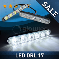 SALE LED DRL 17 Cm Waterproof IP67 Car LED Fog Light 12V Led Daytime Running Light