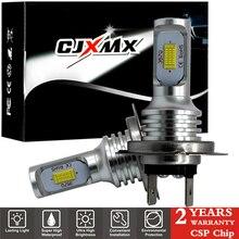 CJXMX 2 шт. H7 светодиодный лампы H1 H3 H8 H11 H27/880 881 9005/HB3 9006/HB4 Противотуманные фары дневные фары лампочки 6500 к 1600LM CSP супер яркий авто фары