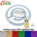 Ceiling Lamp LED Lighting Plate with 2.4G Remote Control Driver RGB + Warm White + White set.