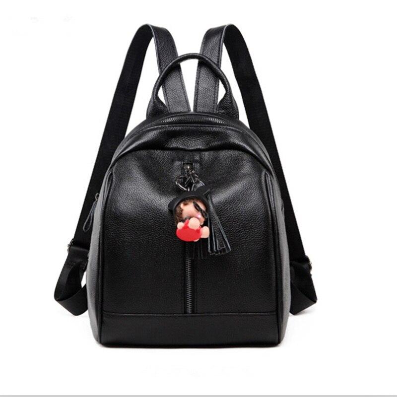 MEIGARDASS mode en cuir véritable femmes sacs à dos pour femme Zipper sac d'école dame décontracté voyage sacs alpinisme sac à dos
