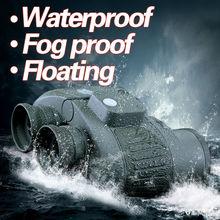 Military 10×50 HD Marine Binoculars Zoom Rangefinder Compass Telescope Eyepiece Waterproof Nitrogen Army Green USCAMEL