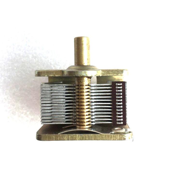 Singolo comune di aria dielettrico condensatore variabile 12PF per 365pf E cappelliSingolo comune di aria dielettrico condensatore variabile 12PF per 365pf E cappelli